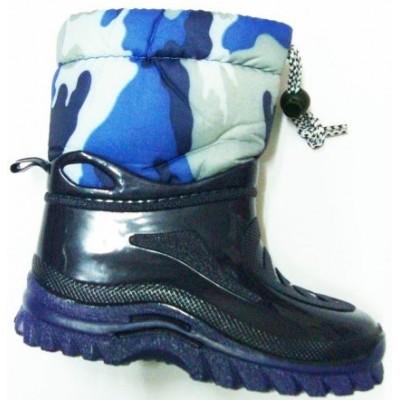 e913afbeb44 MERIDEAN Γαλότσα παιδική εξωτερικά λάστιχο εσωτερικά με γούνα ιδανική για  βροχή και Χιόνια