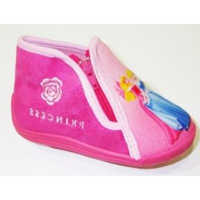 Disney Princess Παιδικές παντόφλες με φερμουάρ 44bcf86139a